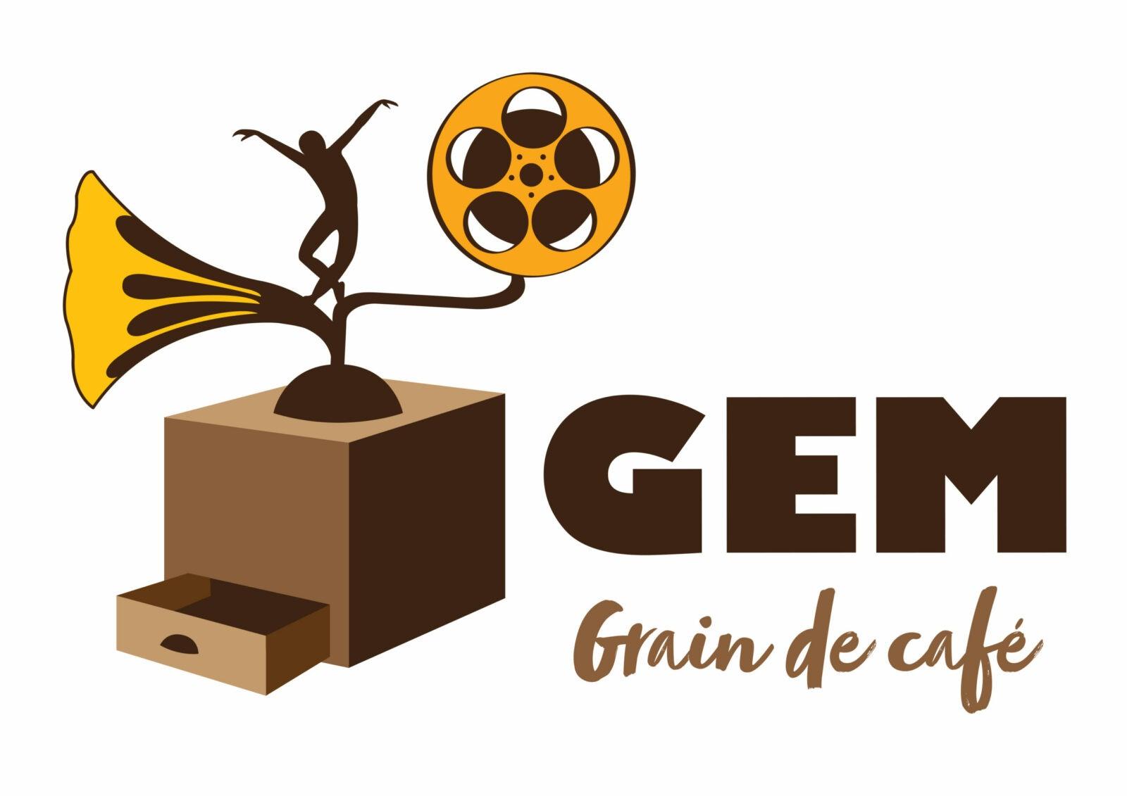 Logo GEM Grain de café